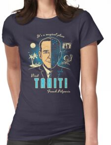 Visit Tahiti Womens Fitted T-Shirt