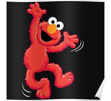 Elmo Happy Poster