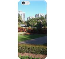 Light & Shade in Colin Campbell Mem. Garden, Brisbane. Queensland. iPhone Case/Skin