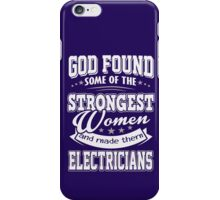 JOB - The Strongest women - Electricians T - shirt - Special design iPhone Case/Skin