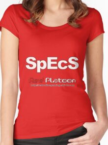 Specs RED Women's Fitted Scoop T-Shirt