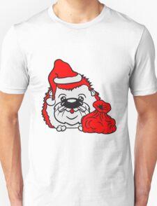 schal mütze kalt frieren winter herbst wärmen baby comic cartoon süßer kleiner niedlicher igel kugel  Unisex T-Shirt
