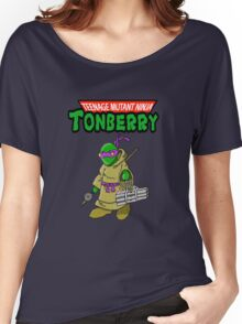 Teenage Muntant Ninja Tonberry Part 2 Women's Relaxed Fit T-Shirt