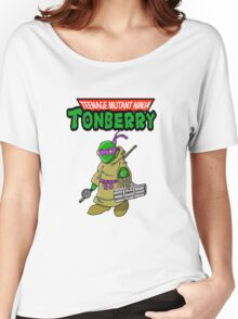 Teenage Muntant Ninja Tonberry Part 2 Women's Relaxed Fit T-Shirt