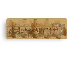 A Page from the Egyptian Book of the Dead Canvas Print
