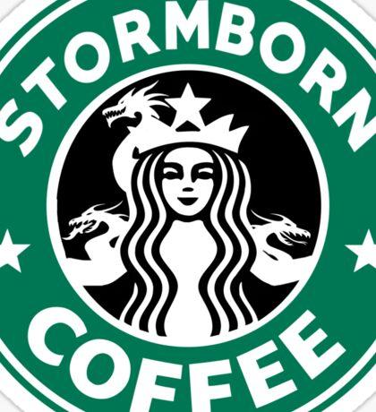 Stormborn Coffee Sticker