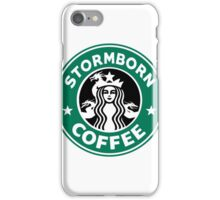 Stormborn Coffee iPhone Case/Skin