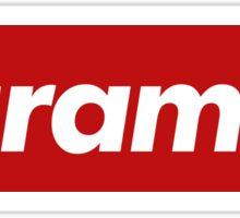 Harambe - Supreme Sticker