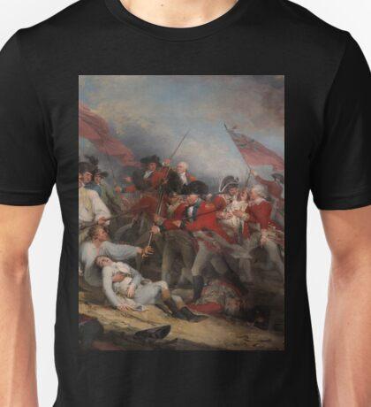 The Battle at Bunker's Hill by John Trumbull Unisex T-Shirt