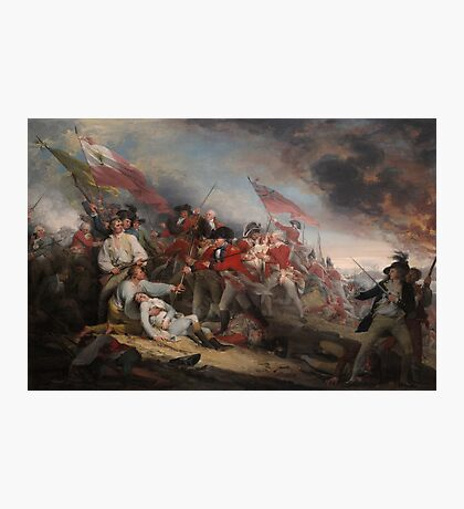 The Battle at Bunker's Hill by John Trumbull Photographic Print