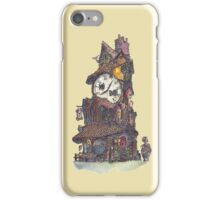 The Clock Makers Home iPhone Case/Skin