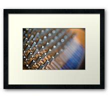 Tuning Pins Framed Print