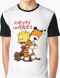 Calvin And doll hobbes Graphic T-Shirt