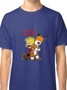 Calvin And doll hobbes Classic T-Shirt
