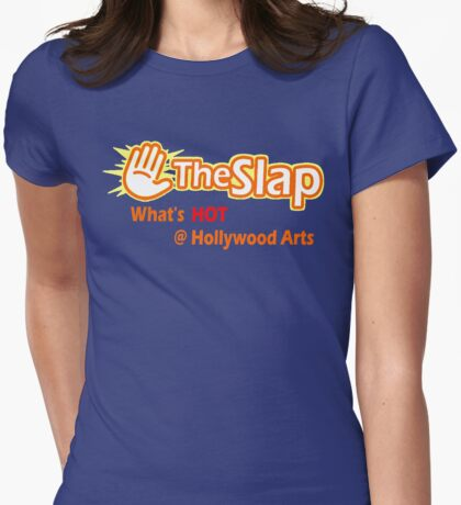 The Slap Womens Fitted T-Shirt