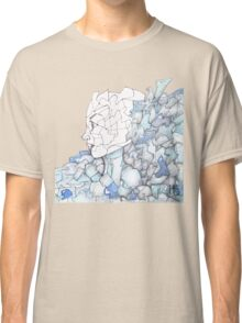 Abstracted Female Portrait Classic T-Shirt