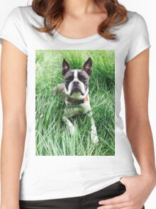 Portrait of Meryl Women's Fitted Scoop T-Shirt