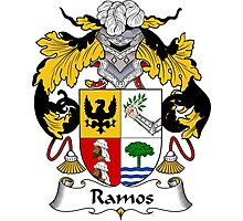 Ramos Coat of Arms/Family Crest Photographic Print