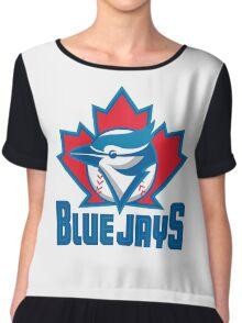 Toronto_Blue_Jays_Logo_ Chiffon Top