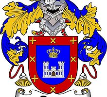 Reyes Coat of Arms/Family Crest by William Martin