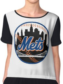 New_York_Mets2 Chiffon Top