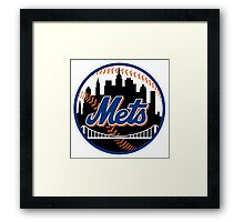 New_York_Mets2 Framed Print
