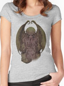 Cthulhu - God Of Cosmic Horror Women's Fitted Scoop T-Shirt