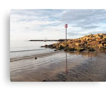 Lyme Regis Seascape - July Canvas Print