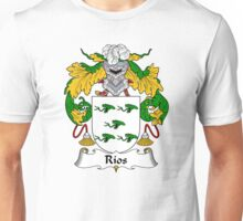 Rios Coat of Arms/Family Crest Unisex T-Shirt