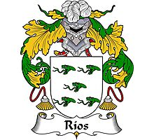 Rios Coat of Arms/Family Crest Photographic Print