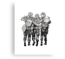 Band of Brothers Canvas Print