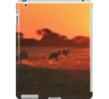 Springbok - African Wildlife Background - Magnificent Sun iPad Case/Skin
