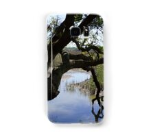 Old Tree Reaching Over To Taste The Water Samsung Galaxy Case/Skin