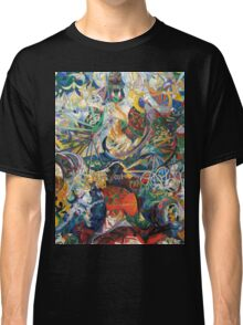 Abstract painting by Joseph Stella Classic T-Shirt