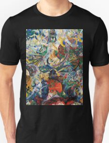Abstract painting by Joseph Stella Unisex T-Shirt