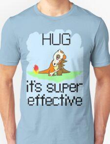 Hug is Super Effective Unisex T-Shirt