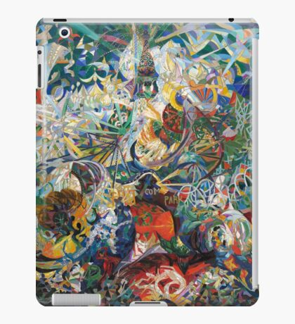 Abstract painting by Joseph Stella iPad Case/Skin