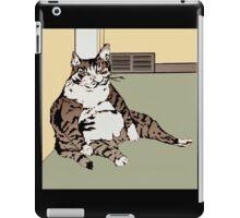The Funny Fat Cat iPad Case/Skin