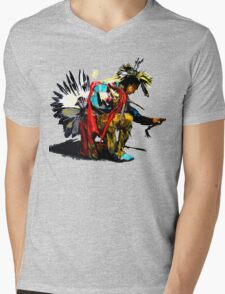 Raindancer Mens V-Neck T-Shirt