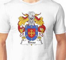 Rivas Coat of Arms/Family Crest Unisex T-Shirt