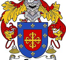 Rivas Coat of Arms/Family Crest by William Martin