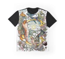 The Illustrated Alphabet Capital C (Fuller Bodied) from THE ILLUSTRATED MAN Graphic T-Shirt