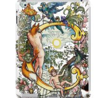 The Illustrated Alphabet Capital C (Fuller Bodied) iPad Case/Skin