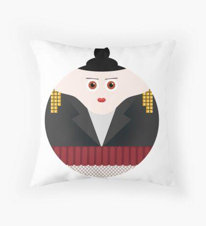 NEW YORK STORIES: GARGOYLES OF NY CHARACTERS #3 Throw Pillow