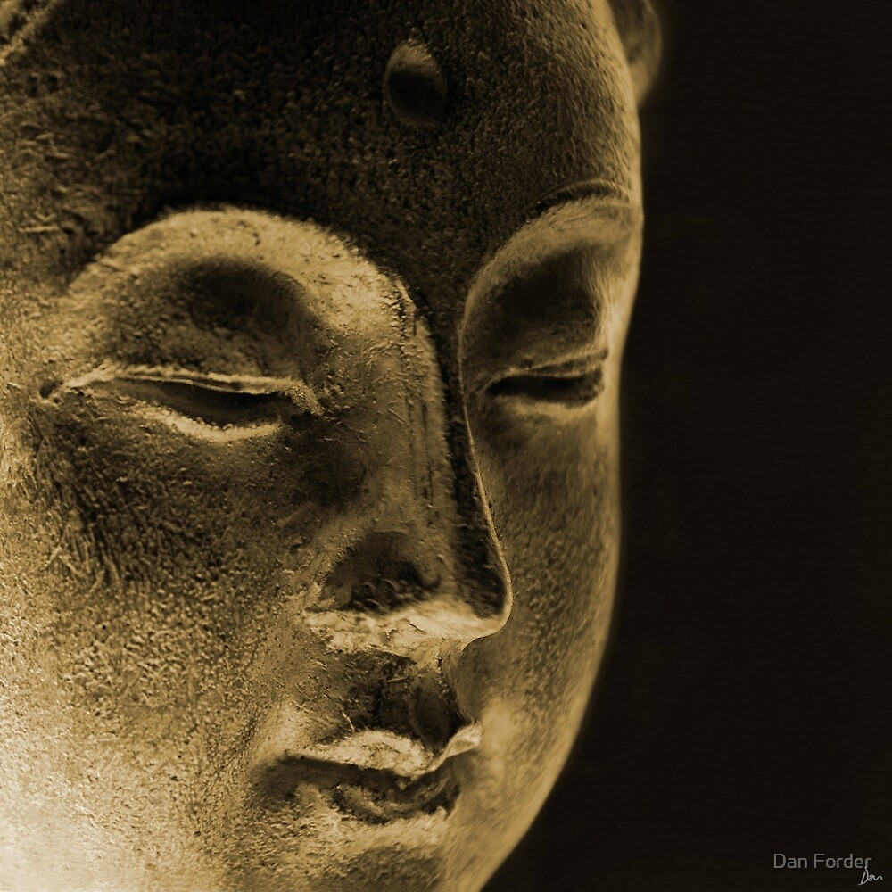 East - Dan ART Spiritual Buddha Sculpture by Dan Forder