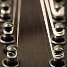 Mandolin Headstock by Liz Grandmaison