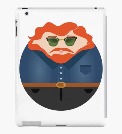 NEW YORK STORIES: GARGOYLES OF NY CHARACTERS #5 iPad Case/Skin