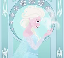 Elsa Nouveau  by Shelby  Wolf