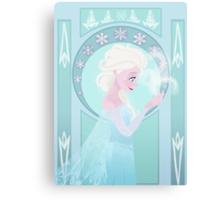Elsa Nouveau  Canvas Print