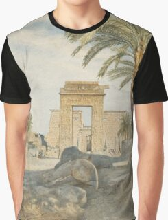 The Temple at Karnak Graphic T-Shirt